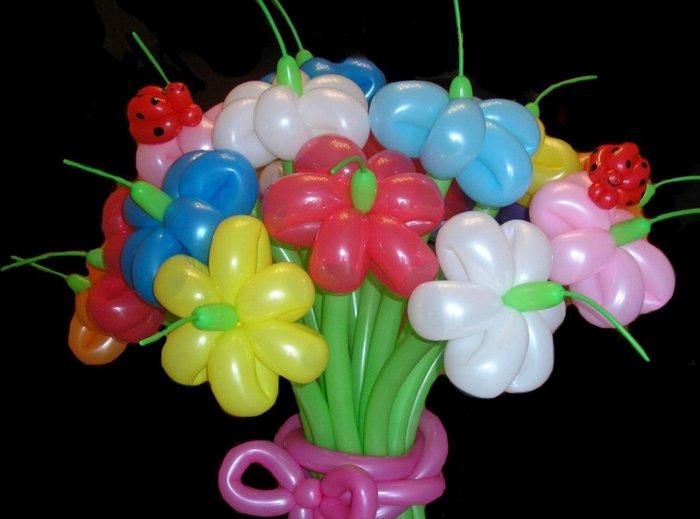 Букеты из воздушных шаров